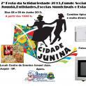 Vem aí, um arraial de diversão Cidade Junina 2013