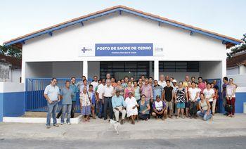 Prefeitura reinaugura posto de saúde do Bairro Cedro em Juquiá
