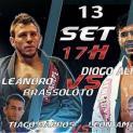 Ilha Fight Jiu Jitsu será neste sábado 13/09  com confrontos entre campeões nacionais