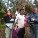 Professores indígenas de Iguape/SP salvam gavião Carcará de predadores naturais